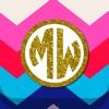Monogram Wallpapers Background (AppStore Link)