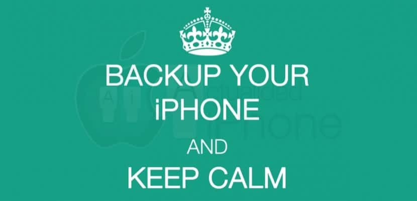 Backup del iPhone