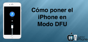 iPhone en modo DFU