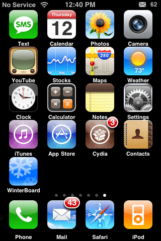 iconos iPhone