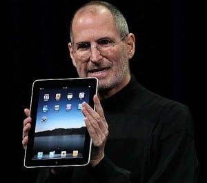 Jobs y el iPad