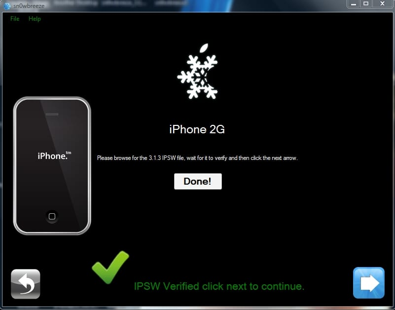 sn0wbreeze5 Tutorial: Jailbreak al Firmware 3.1.3 del iPhone con el Sn0wbreeze v1.3 (Windows)
