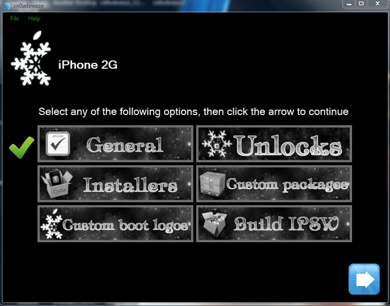 sn0wbreeze6 Tutorial: Jailbreak al Firmware 3.1.3 del iPhone con el Sn0wbreeze v1.3 (Windows)