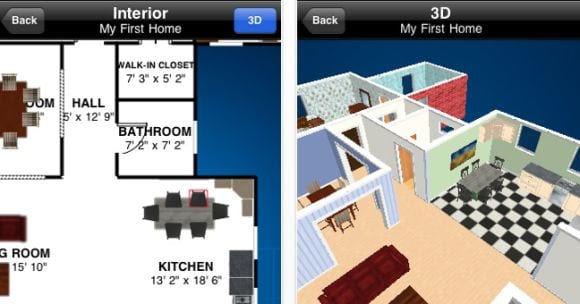 home3ddesign Home 3D, diseñando casas en el iPhone