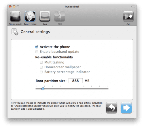 6 Tutorial: jailbreak untethered a iOS 4.3.3 con PwnageTool (MAC) (Custom Firmware)