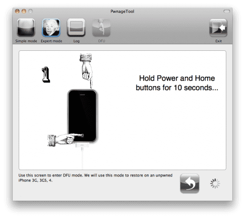 94 Tutorial: jailbreak untethered a iOS 4.3.3 con PwnageTool (MAC) (Custom Firmware)