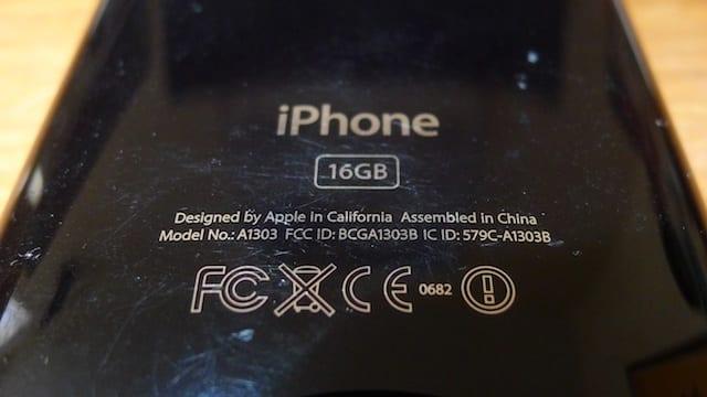 iphone model a1332 emc 380b fcc id bcg-e2380b ic 579c-e2380b