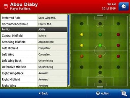 FootballManagerPlayerProfile thumb Football Manager llega al iPad