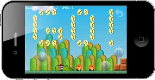 Monino super mario iphone
