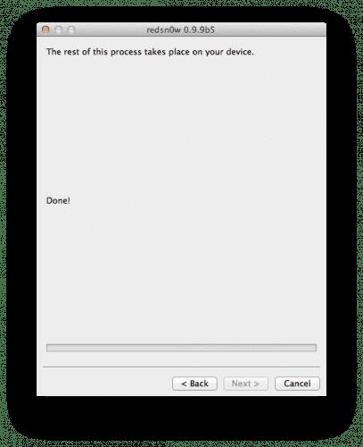 60238 500 Tutorial: jailbreak tethered a iOS 5.0.1 con Redsn0w (Mac y windows)