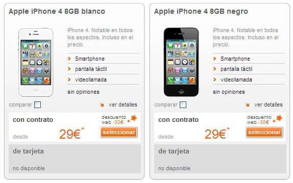 Iphone  Orange Libre