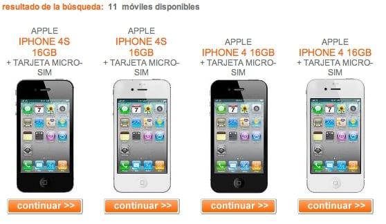 Oferta Orange Iphone X