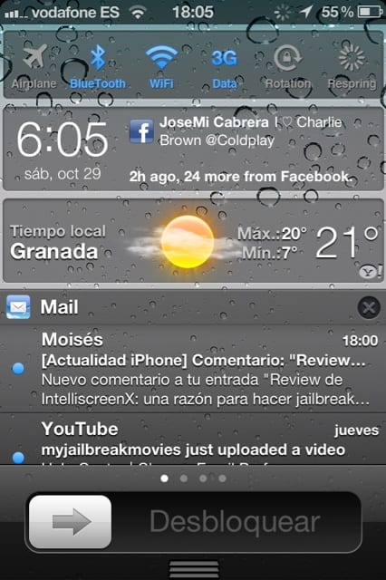 x2 90585c5 IntelliscreenX ya está disponible (Cydia)