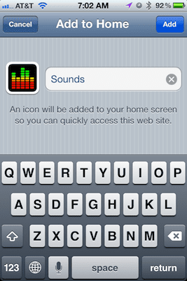 Want settings toggles on your iphones homescr 4