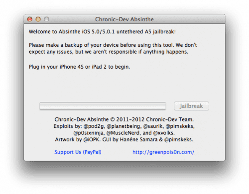 68830 Tutorial: jailbreak al iPhone 4S con iOS 5 e iOS 5.0.1