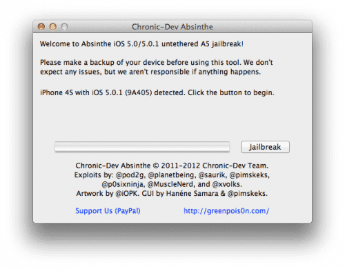 68832 Tutorial: jailbreak al iPhone 4S con iOS 5 e iOS 5.0.1