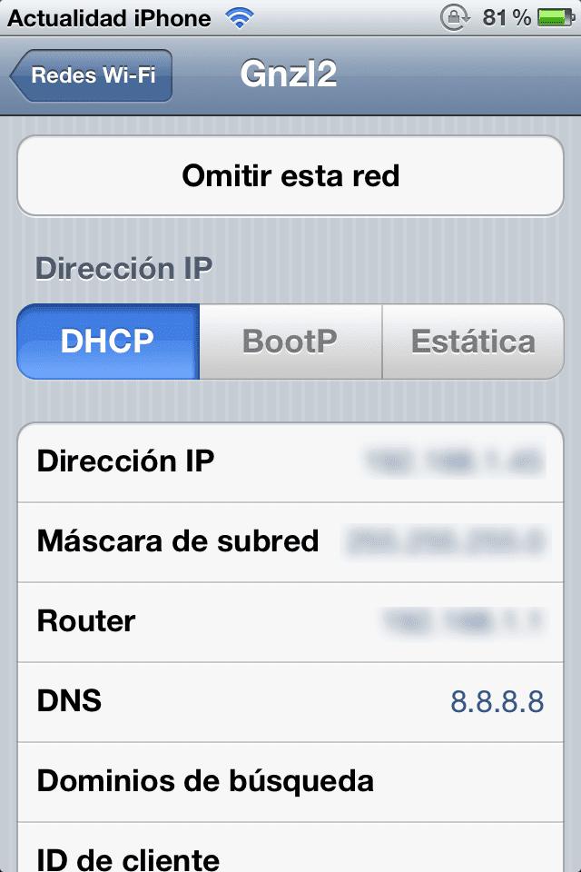 Solución: no puedo actualizar mi iPhone via OTA