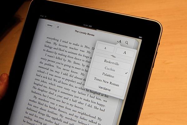Selección de aplicaciones para leer libros desde el iPad