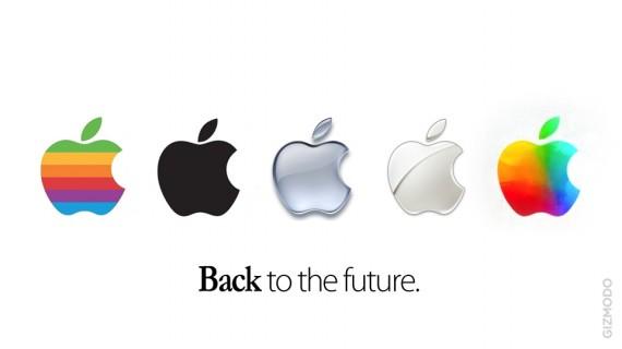 Nuevo logo de Apple usado en la keynote del nuevo iPad