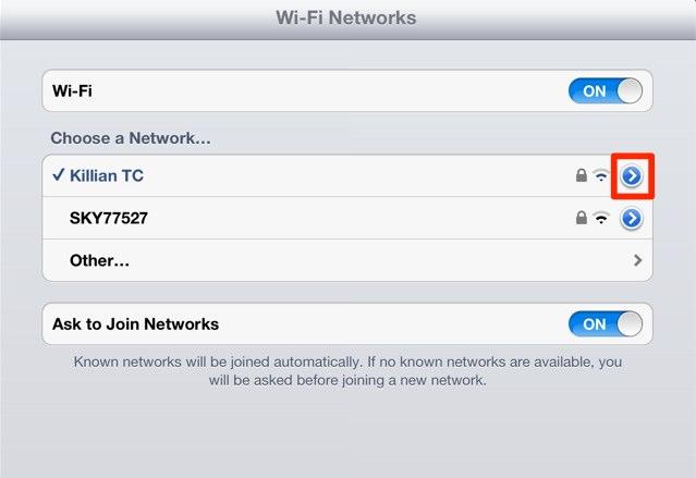 Solución a los problemas de WIFI en el nuevo iPad