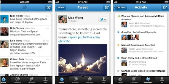 Twitter 4.2 para iPhone