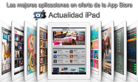 Aplicaciones en oferta para iPad
