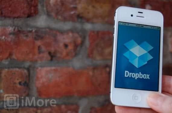 Aplicación de Dropbox para iPhone