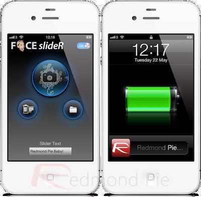 FaceSlideR para personalizar el slider de bloqueo de iOS