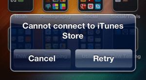 Fallo en la App Store