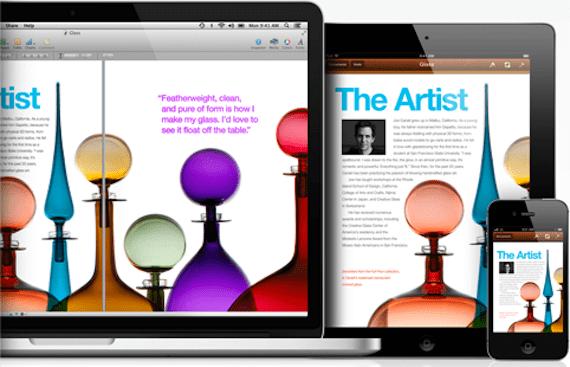 iWork para iOS
