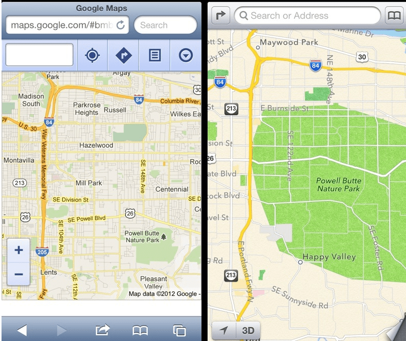 Screen Shot 2012 09 26 at 1.39.55 PM Eric Schmidt afirma que Apple debería haberse quedado con Google Maps