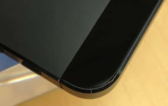 Carcasa del iPhone 5 dañada