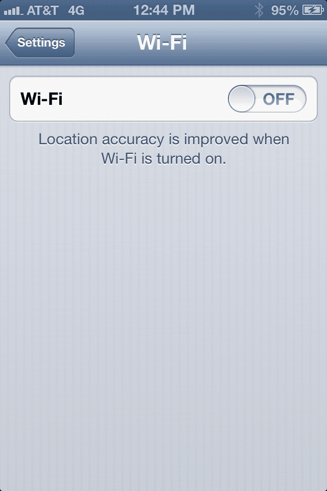 photo Los problemas de Wifi en iOS 6.0