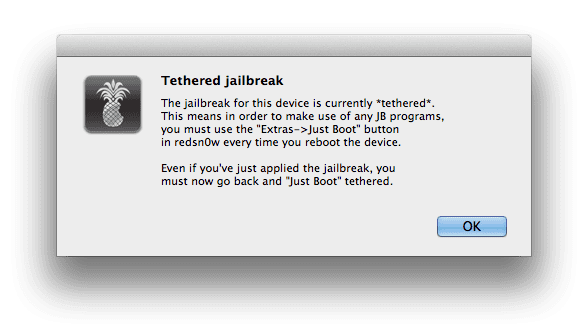 94848 Tutorial: jailbreak tethered al iPhone 4 o 3GS con iOS 6