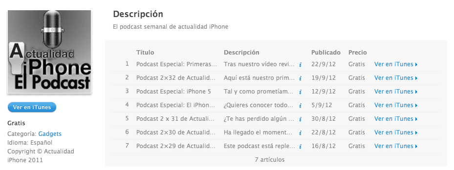 Screen Shot 2012 10 02 at 12.45.11 PM El Podcast de Actualidad iPhone y Actualidad iPad regresa mañana