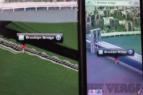 Puente de Brooklyn en iOS6
