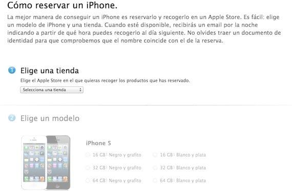 Reservas del iPhone