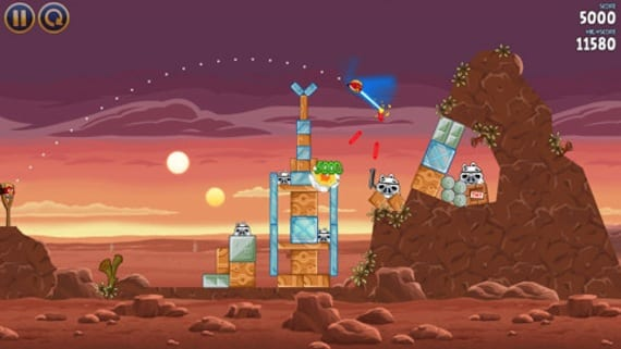 Angry Birds Star Wars ya disponible en la App Store