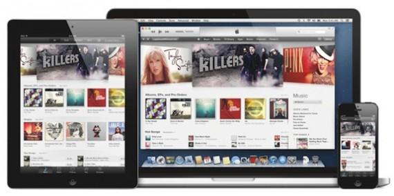 iTunes 11 en Macbook iPhone e iPad