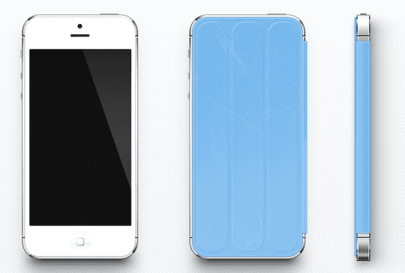 smart cover iphone5 Concepto de Smart Cover para el iPhone 5