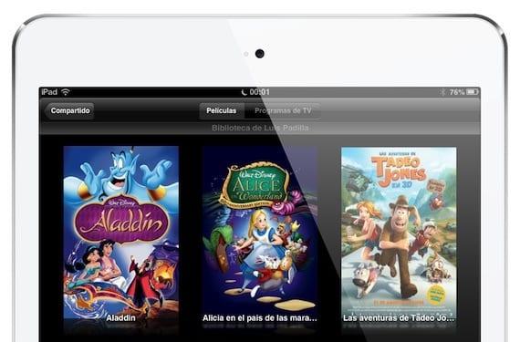 Compartir en casa: tu biblioteca de iTunes en tu iPad