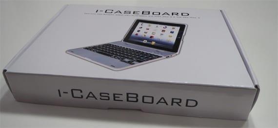 caja teclado externo para iPad