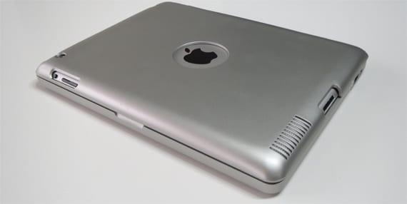 Trasera del teclado para iPad