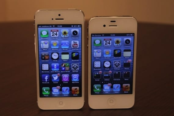 307179 iphone 5 vs iphone 4s Rumores de lanzamiento del iPhone Math con pantalla de 4.8 pulgadas