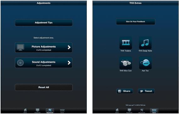 Configuración de vídeo de THX