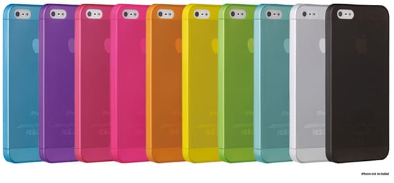 Review fundas Ozaki para el iPhone 5