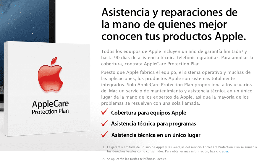 Screen Shot 2013 01 15 at 5.45.48 PM Bélgica demanda a Apple por engañar a sus clientes con Apple Care