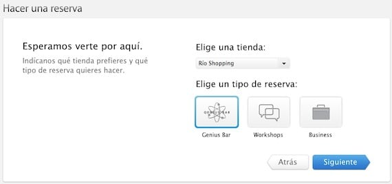 Cita con Genius en Apple Store Río Shopping