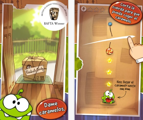 cut the rope Cut the Rope se actualiza con nuevos niveles