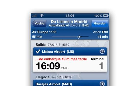 App para gestionar los vuelos